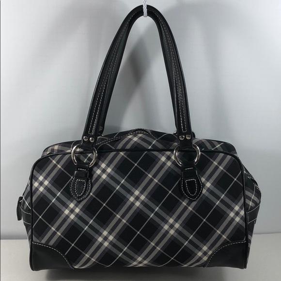 02ca3a08b33a Burberry Handbags - Authentic Burberry Nova Check Blue Label Tote Bag